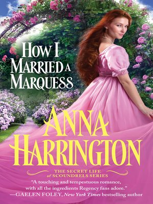cover image of How I Married a Marquess