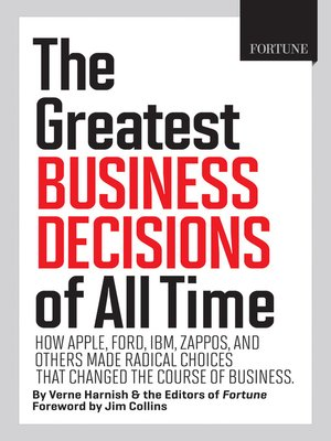 Jim collins overdrive rakuten overdrive ebooks audiobooks and cover image of fortune the greatest business decisions of all time fandeluxe Gallery