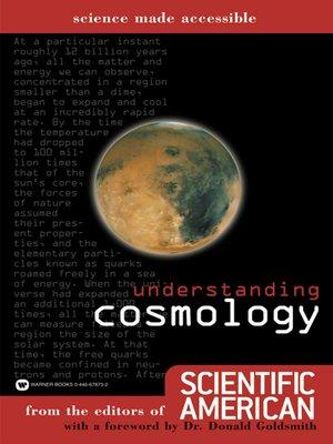 cover image of Understanding Cosmology