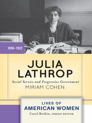 cover image of Julia Lathrop