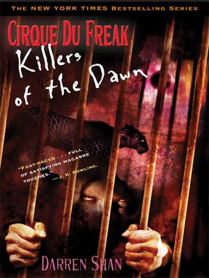 cover image of Killers of the Dawn
