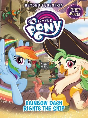 cover image of Rainbow Dash Rights the Ship