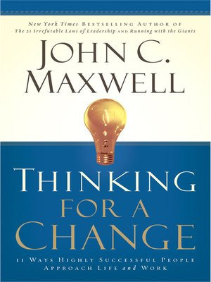 cover image of Thinking for a Change