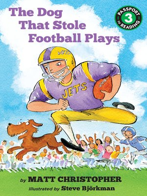 cover image of The Dog That Stole Football Plays