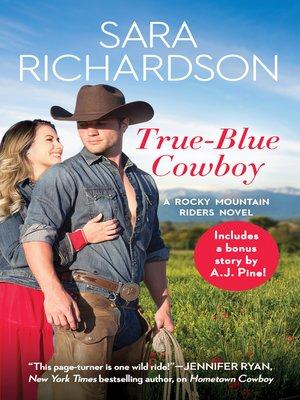 cover image of True-Blue Cowboy
