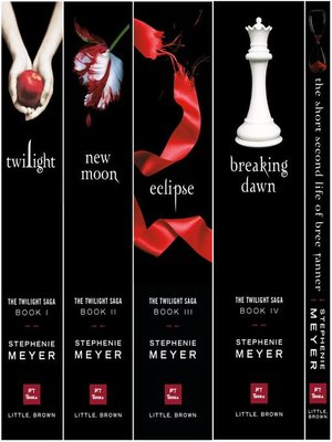 cover image of The Twilight Saga Complete Collection