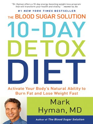 cover image of The Blood Sugar Solution 10-Day Detox Diet