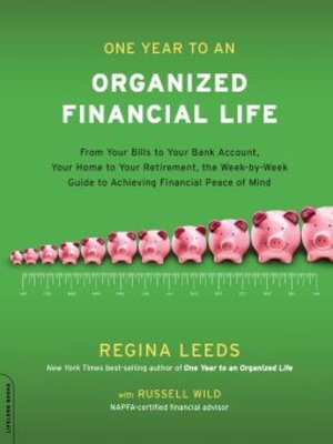 cover image of One Year to an Organized Financial Life