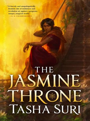 cover image of The Jasmine Throne