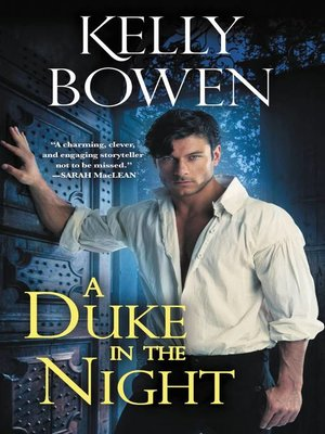 cover image of A Duke in the Night