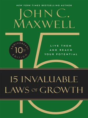 cover image of The 15 Invaluable Laws of Growth
