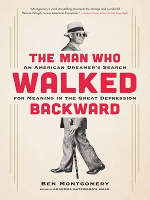cover image of The Man Who Walked Backward