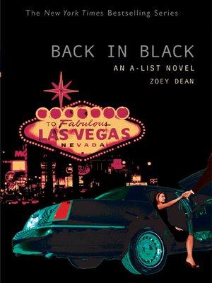 cover image of Back in Black