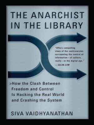 cover image of The Anarchist in the Library