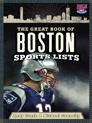 cover image of The Great Book of Boston Sports Lists