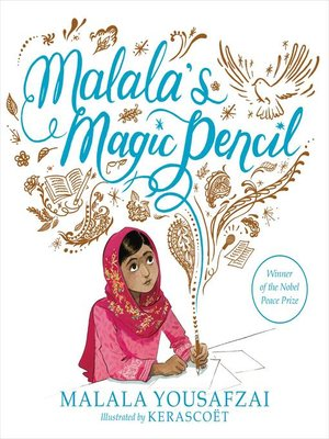 cover image of Malala's Magic Pencil