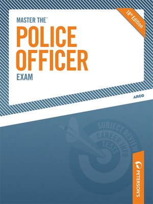 comprehensive guide to canadian police officer exams ebook
