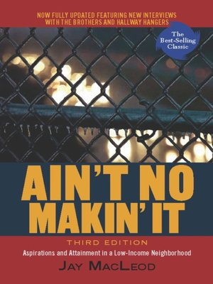 cover image of Ain't No Makin' It