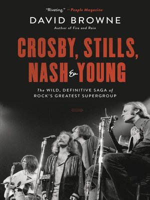 cover image of Crosby, Stills, Nash and Young