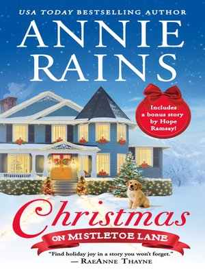 cover image of Christmas on Mistletoe Lane