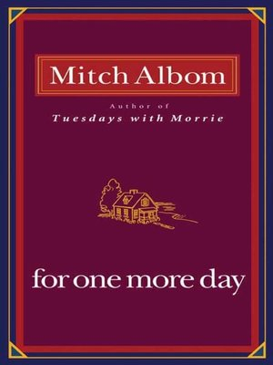 cover image of For One More Day
