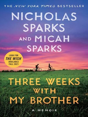 cover image of Three Weeks with My Brother