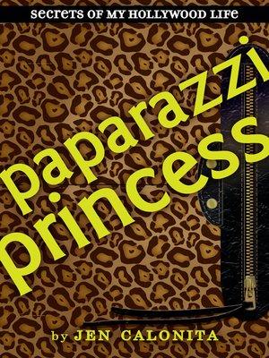cover image of Paparazzi Princess
