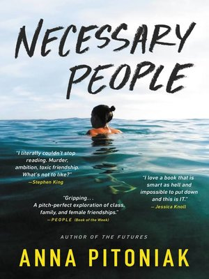 cover image of Necessary People