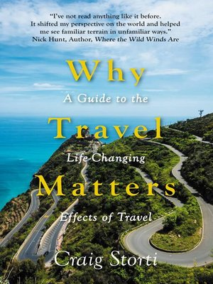 cover image of Why Travel Matters