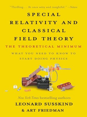 cover image of Special Relativity and Classical Field Theory