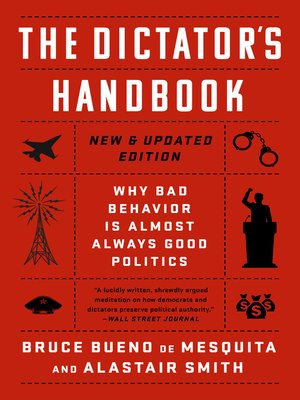 cover image of The Dictator's Handbook