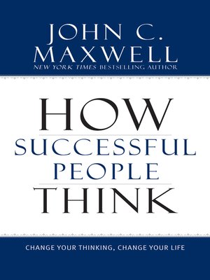 cover image of How Successful People Think