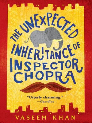cover image of The Unexpected Inheritance of Inspector Chopra