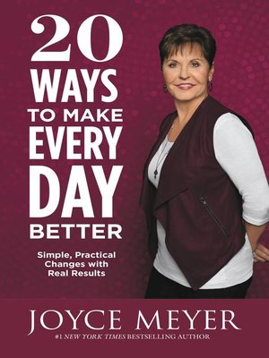 cover image of 20 Ways to Make Every Day Better