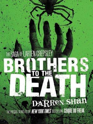 cover image of Brothers to the Death