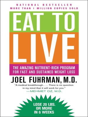 cover image of Eat to Live