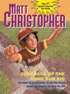 cover image of Comeback of the Home Run Kid