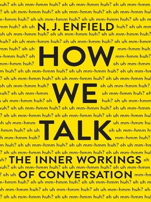 cover image of How We Talk