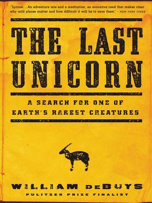 cover image of The Last Unicorn