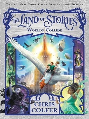 cover image of The Land of Stories--Worlds Collide