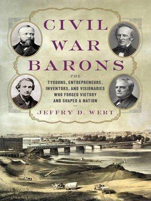 cover image of Civil War Barons