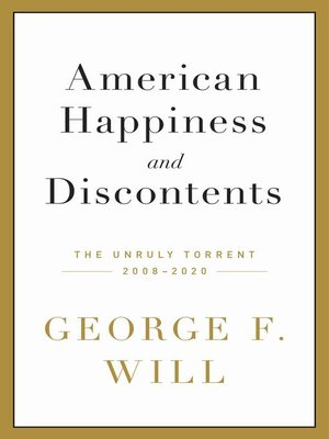 cover image of American Happiness and Discontents