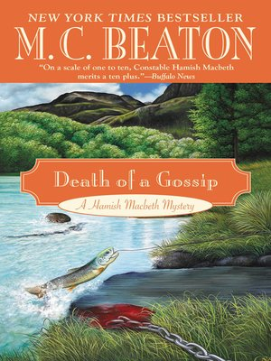 cover image of Death of a Gossip