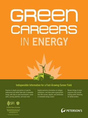 cover image of Green Careers in Energy