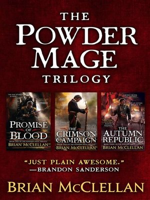 cover image of The Powder Mage Trilogy