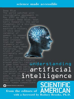 cover image of Understanding Artificial Intelligence