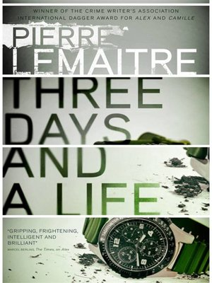 cover image of Three Days and a Life
