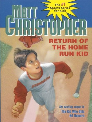 cover image of Return of the Home Run Kid