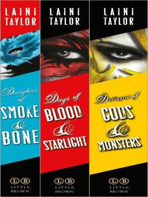 cover image of Daughter of Smoke & Bone: The Complete Gift Set