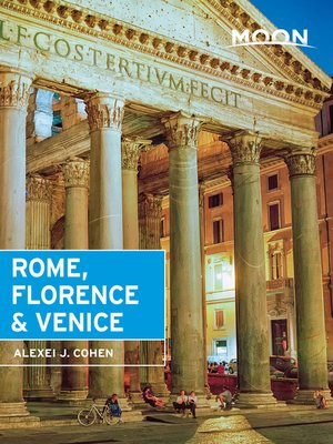 cover image of Moon Rome, Florence & Venice